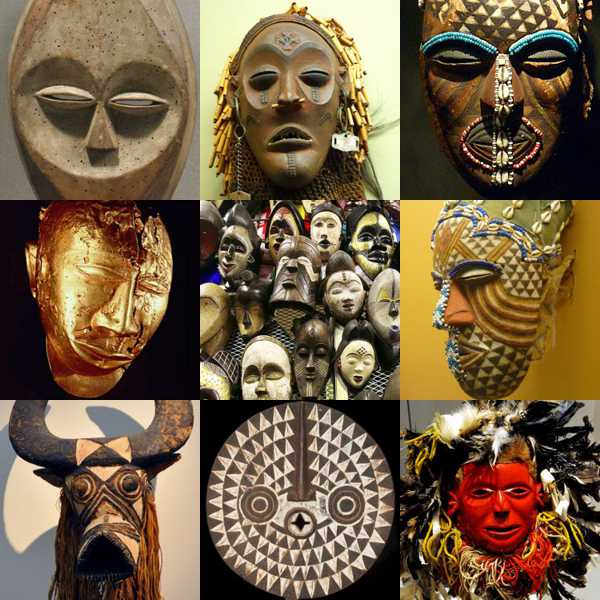 african-masks-illustration