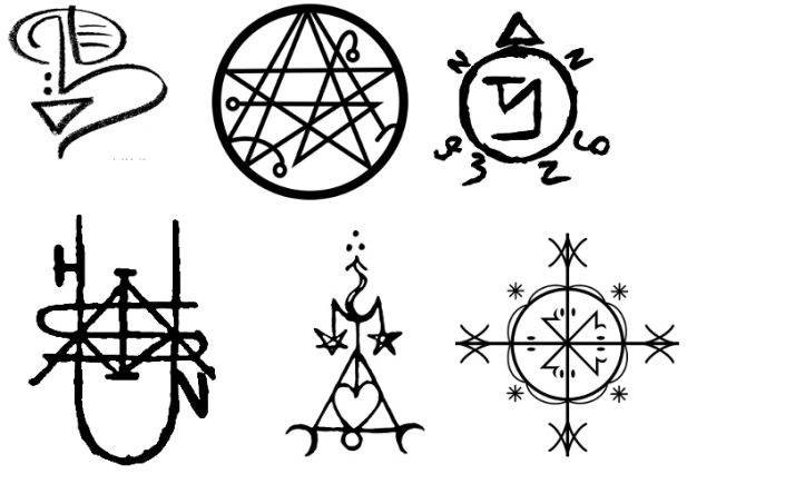Sigils: Barcodes for your Brain